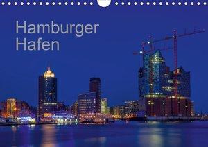 Hafen Hamburg (Wandkalender 2021 DIN A4 quer)