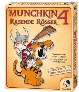 Pegasus Spiele 17214G - Munchkin 4: Rasende Rösser