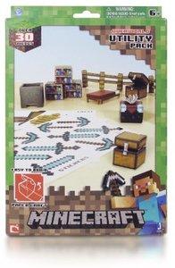 Minecraft 16702 - Papierset, Werkzeug, 30 Teile