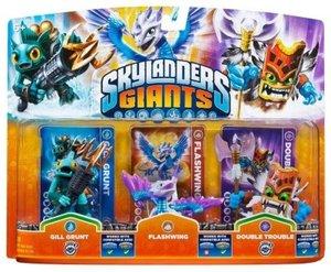Skylanders Giants - Triple Pack D Flashwing, Gill Grunt, Double Trouble
