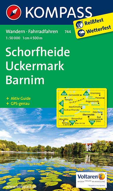 Schorfheide / Uckermark / Barnim 1 : 50 000