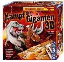 Kampf der Giganten 3D - T-rex gegen Triceratops