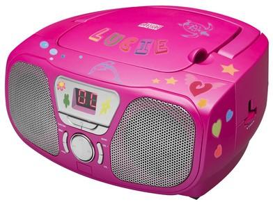 Tragbares CD/Radio CD46 Kids - pink