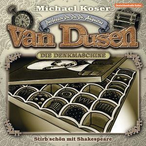 Professor van Dusen  - Stirb schön mit Shakespeare, 1 Audio-CD