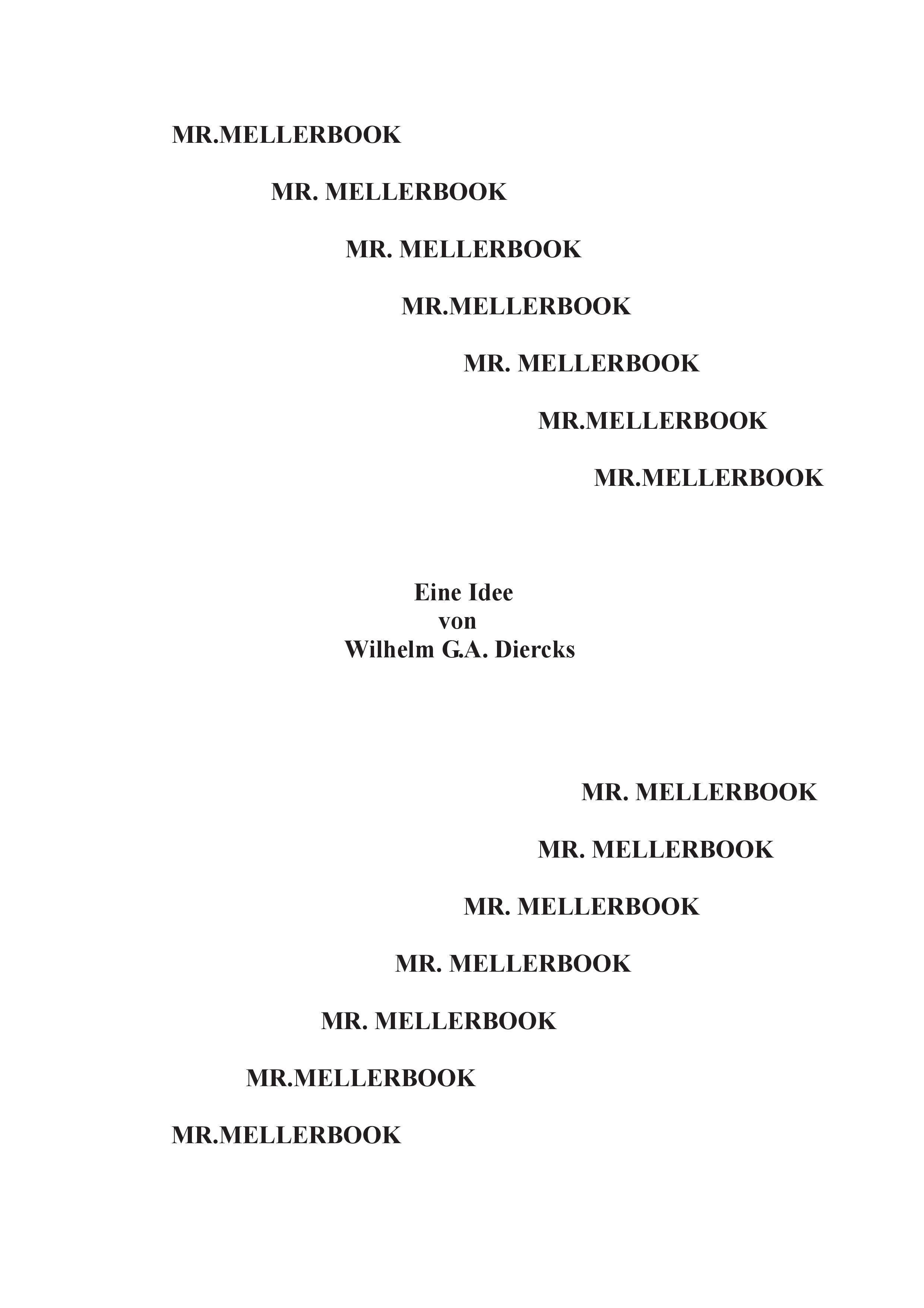 Mr. Mellerbook