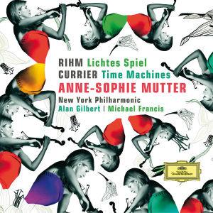 Anne-Sophie Mutter - Rihm / Currier, 1 Audio-CD