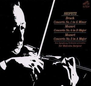 Heifetz, J: Violinkonzert 1 op.26/Violinkonzerte 4+5