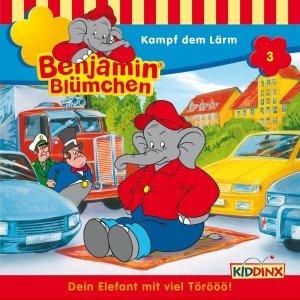 Benjamin Blümchen 003. Kampf dem Lärm. CD