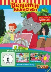 Benjamin Blümchen im Krankenhaus / Das rosarote Auto, 1 DVD