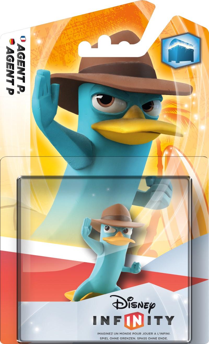 Disney INFINITY - Figur Single Pack - Agent P