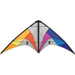 Invento 11234614 - Quickstep II Rainbow, Zweileiner-Lenkdrachen