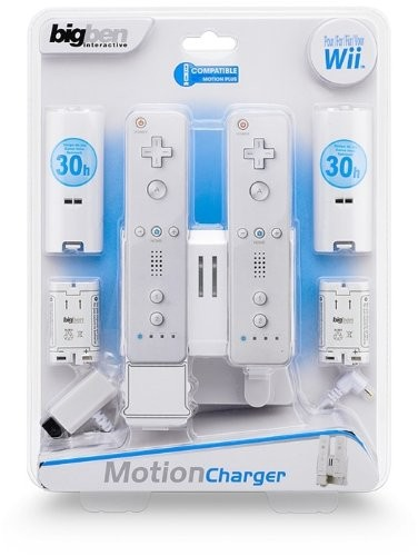 Wii Motion Charger LXWii - Motion Charger LX schwarz/weiss