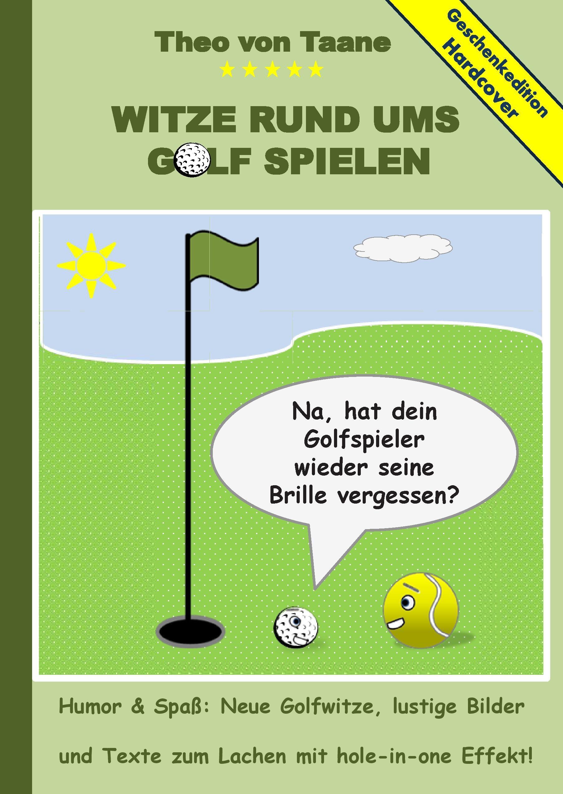 Geschenkausgabe Hardcover: Humor & Spaß - Witze rund ums Golf sp
