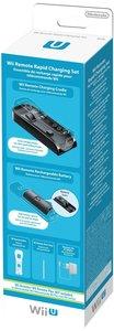 Remote Charging Set, Schnell-Ladestation + Akku für Wii U Remote