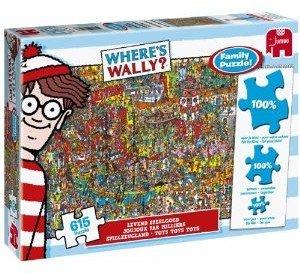 Jumbo Spiele 17248 - Wally Spielzeugland Puzzle, 615 Teile