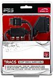 Speedlink SL-4412-BK TRACS SCART Video & Audio Kabel, schwarz