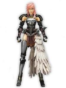 Final Fantasy XIII-2 Figur Lightning