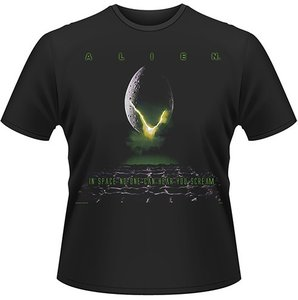 T-Shirt Alien (Größe S) Egg