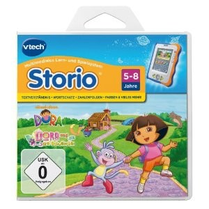 VTech 80-280904 - Storio Lernspiel: Dora