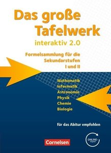 Das große Tafelwerk interaktiv 2.0 Mathematik, Informatik, Astro
