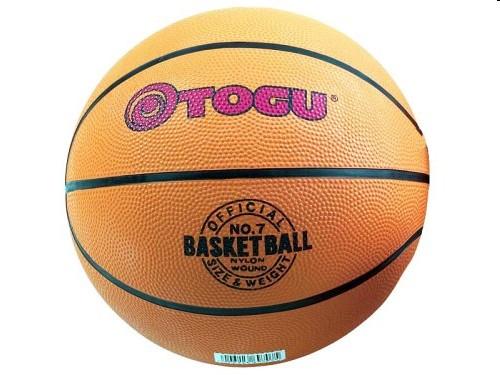 TOGU 697070 - Basketball, Größe 7 = 23,5cm, 630g, orange