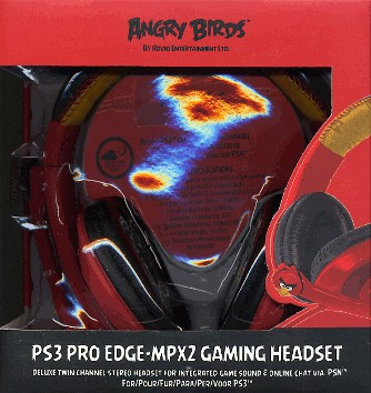 Stereo Headset Kopfhörer PS3 Angry Birds