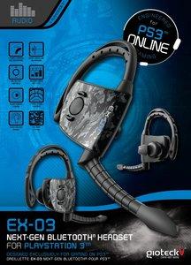 GIOTECK EX-03 Next-Gen Bluetooth Headset für PS3