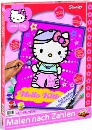 Schipper 609330528 - Hello Kitty: Shooting Star, MNZ, Malen nach