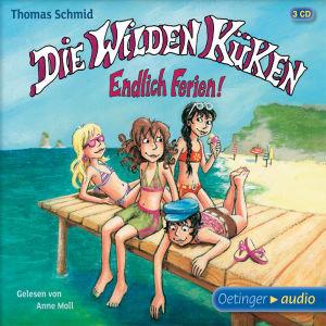 Die Wilden Küken, Endlich Ferien!, 3 Audio-CDs