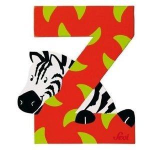 Sevi 81626 - Buchstabe: Zebra, Z