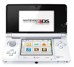 Nintendo 3DS - Konsole - Schneeweiß