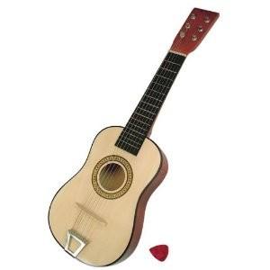 Bino 86553 - Gitarre 23 mit 6 Saiten