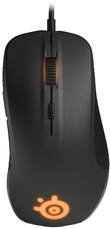 SteelSeries Rival Optical Gaming Maus, schwarz