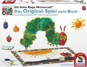 Schmidt 40463 - Kleine Raupe Nimmersatt: Das Spiel zum Buch