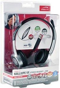KALLIOPE VX Stereo Kopfhörer - schwarz/silber