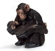 Schleich 14679 - Wild Life: Schimpansen-Weibchen