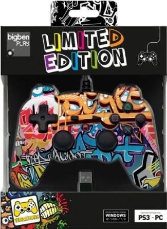 Joypad Street II Limited Edition PS3/PC - Controller, kabelgebun