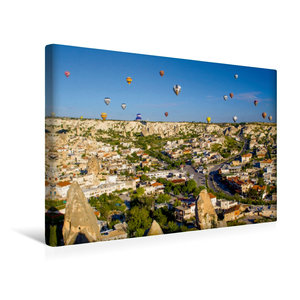 Premium Textil-Leinwand 45 cm x 30 cm quer Ein Motiv aus dem Kalender Türkei - fantastisches Kappadokien