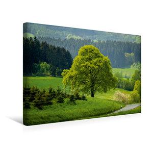 Premium Textil-Leinwand 45 cm x 30 cm quer Ein Motiv aus dem Kalender Gemeinde Herscheid