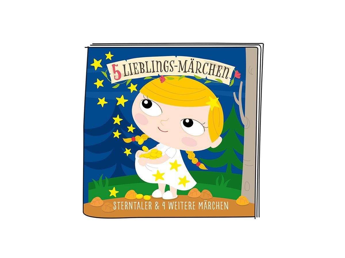 10000137 - Tonie - Lieblings-Märchen - Sterntaler und 4 weitere