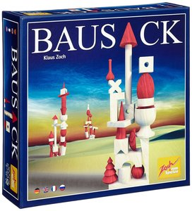 Zoch 601120200 - Bausack, Holz Stapelspiel