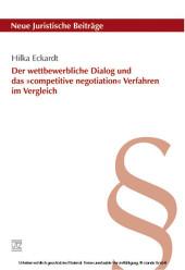Der wettbewerbliche Dialog und das »competitive negotiation« Ver