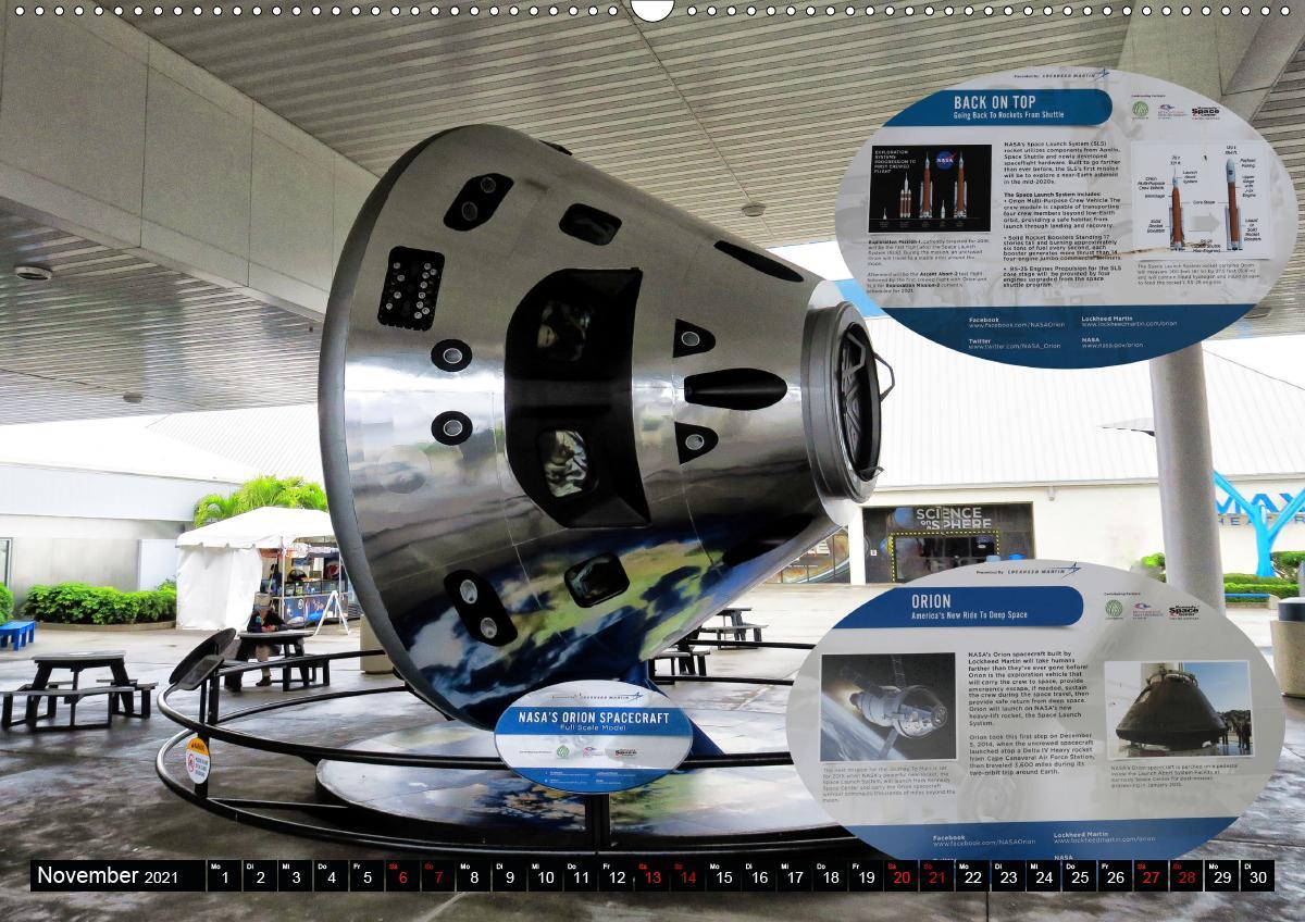 Kennedy Space Center (Wandkalender 2021 DIN A2 quer)