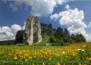 Landschaften im Altmühltal (Wandkalender 2022 DIN A2 quer)