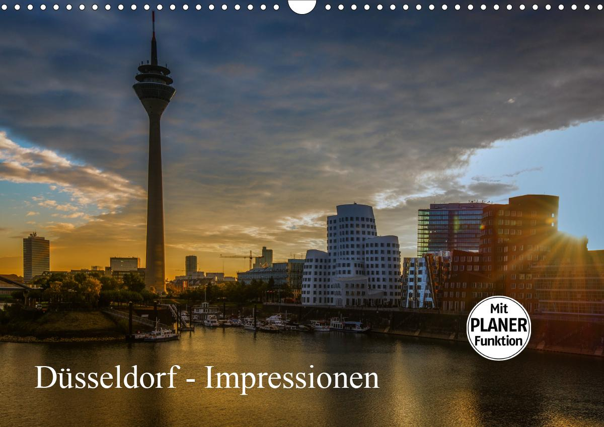 Düsseldorf - Impressionen (Wandkalender 2021 DIN A3 quer)