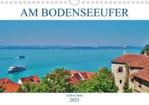 Am Bodenseeufer (Wandkalender 2021 DIN A4 quer)