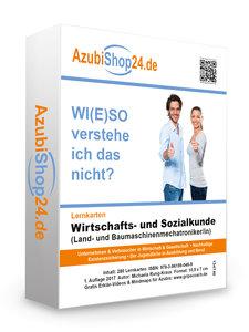 AzubiShop24.de Lernkarten Wirtschafts- und Sozialkunde (Land- und Baumaschinenmechatroniker/in). Wiso Prüfungsvorbereitung