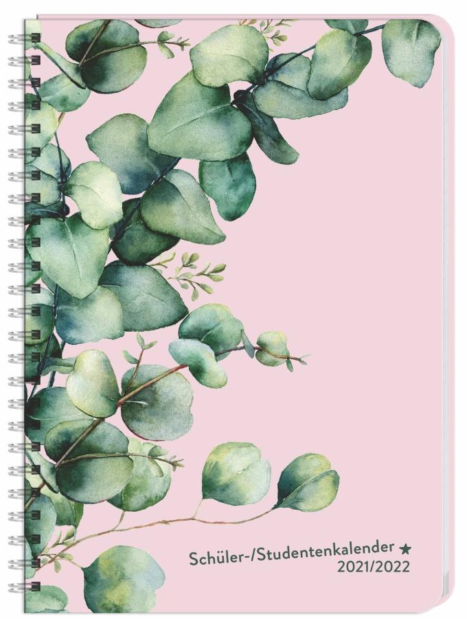 Eukalyptus Schüler-/Studentenkalender A5  - 2022