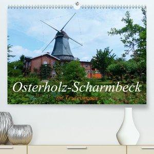Osterholz-Scharmbeck im Teufelsmoor (Premium, hochwertiger DIN A