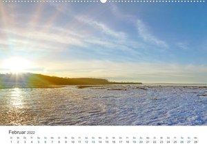 Deutsche Küste - Nordsee und Ostsee (Wandkalender 2022 DIN A2 quer)